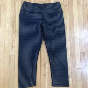 Kyodoo cropped striped leggings